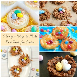 5 Easter Bird Nests | Sew You Think You Can Cook