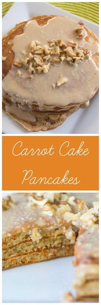Carrot Cake Pancakes #EasterRecipes Sew You Think You Can Cook