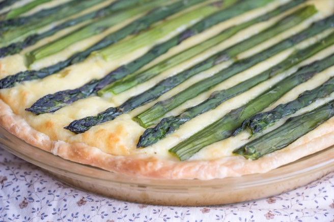 Cheesy Potato Asparagus Tart for #BrunchWeek from Sew You Think You Can Cook (1)