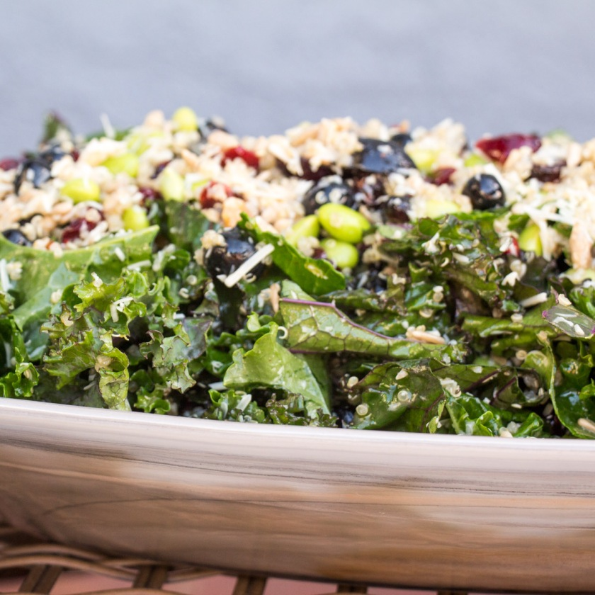 Kale Superfoods Salad for #SundaySupper from Sew You Think You Can Cook