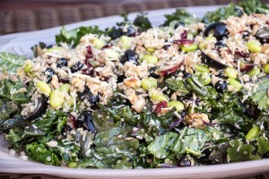 Kale Superfoods Salad for #SundaySupper from Sew You Think You Can Cook (2)