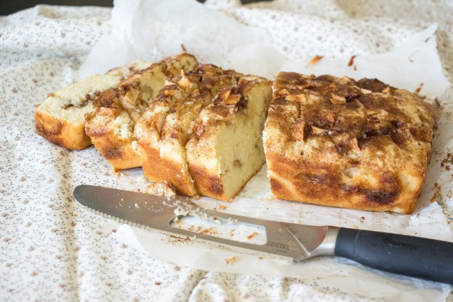 Apple Pie Bread for #AppleWeek from Sew You Think You Can Cook