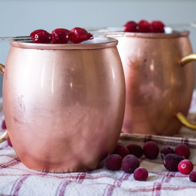 Cranberry Cider Punch for #CranberryWeek from Sew You Think You Can Cook
